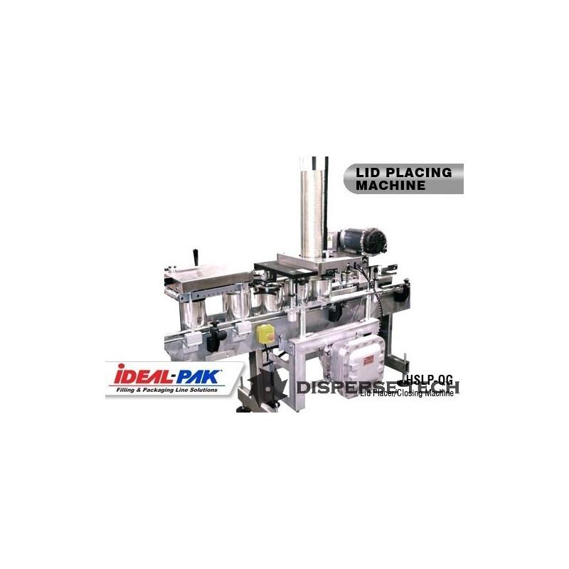 Ideal-Pak - Ideal-Pak HSLP-QG High Speed Lid Placer - HSLP-QG - 1