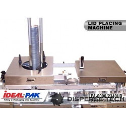Ideal-Pak LPA-0000 Lid Placer