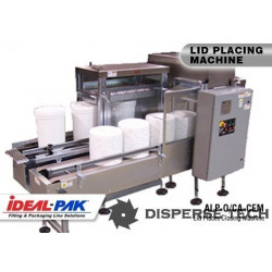 Ideal-Pak ALP-5O Lid Placer