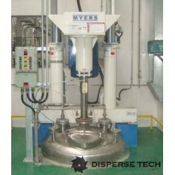 Myers - Myers Engineering Model 600/800 Tank Mounted High Speed Disperser - MYE-600/800 - 1