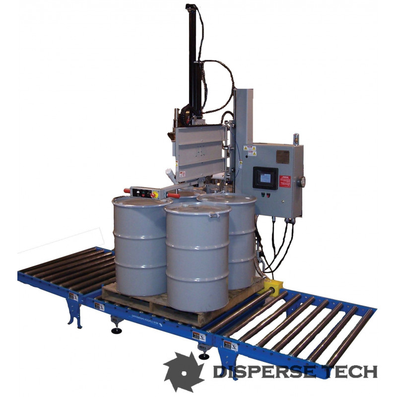 Ideal Pak Model Pt Bf Automatic Drum And Tote Filler