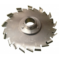 F Style Sawtooth Dispersion Blade