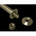Large diameter shaft adapters