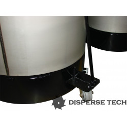 DisperseTech - S/S Portable Tank on Castors - TANK-S-C - 2