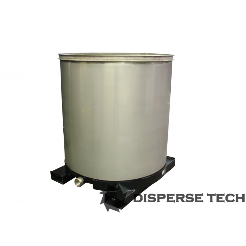 DisperseTech - S/S Portable Tank on Fork Tubes - TANK-S-F - 1
