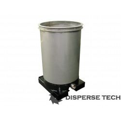 DisperseTech - S/S Portable Tank on Fork Tubes - TANK-S-F - 2