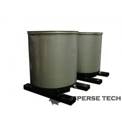 DisperseTech - S/S Portable Tank on Fork Tubes - TANK-S-F - 3