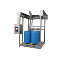 PASE Group - FULLY AUTOMATIC DRUM FILLER with Optical Bung Locating - - 1